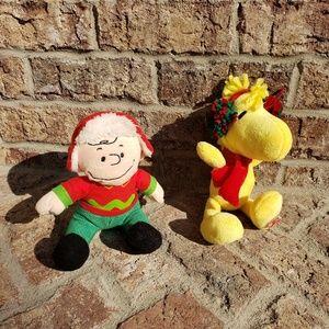 PEANUTS Charlie Brown & Woodstock